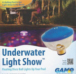 Swimming Pool Floating Disco Ball Underwater Light Show by GAME