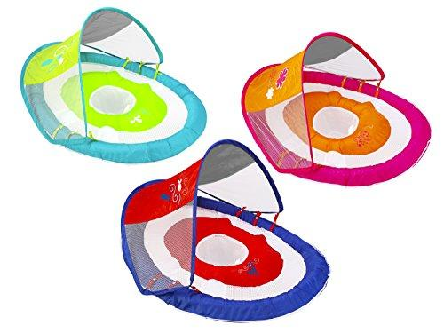 Swimways 11606 Baby Spring Float Sun Canopy Assortment, Pink, 8 Inches