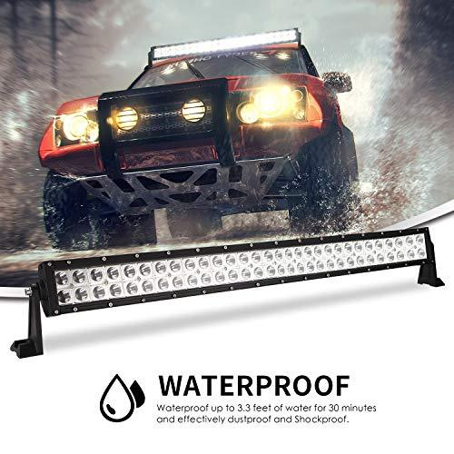 "SWOO CAR 30"" LED SUV Projector LED Light Bar 300W 50000LM 6000K LED Work Light Spot Flood Combo Harvester LED Lights Boat Lighting Crane Driving Fog Lights"