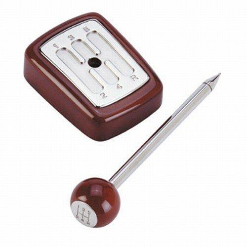 syoT Car Gearstick Desk Pen Set with wooden gear knob