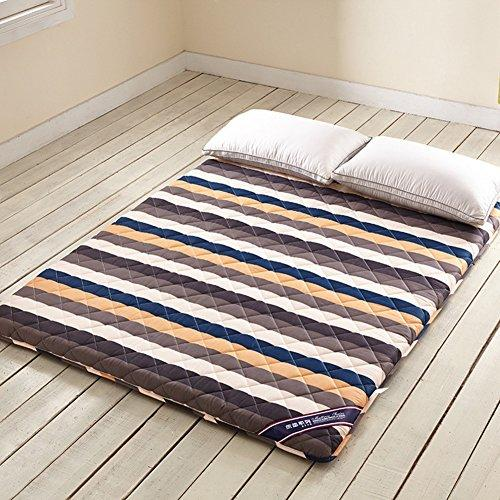 Tatami Stripe Mattress,Foldable Japanese Summer Sleeping Mattress 1.2m Bed Sleeping Pad-A 180x200cm(71x79inch)