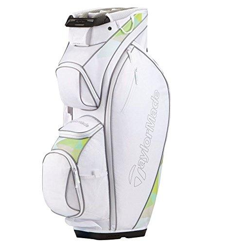TaylorMade Men Kalea Golf Club Bags - White/Green, One Size