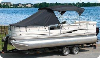 TaylorMade Products 12009OR Pontoon Playpen Shade, Bow Area Cover