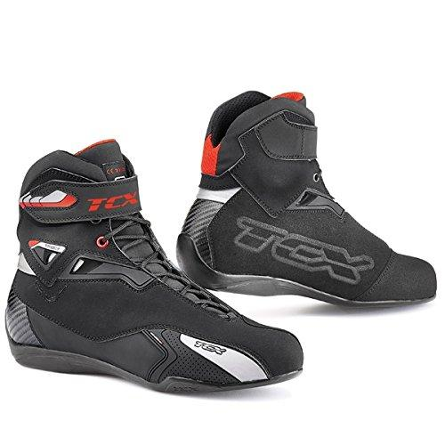 TCX Rush Waterproof Motorcycle Boots Black (45)