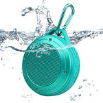Tecson Portable Speaker, Mifa F10 Waterproof Lightweight Outdoor Bluetooth Car Speaker Subwoofer 5W Powerful Audio Amplifier with 3D Surround Stereo Hands-free and USB Sound Card Function,Perfect Hiking Camping Companion. (Ocean Blue)