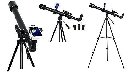 Telescope for Kids and Adults 50mm Smart Portable Travel Telescope Astronomy Observing Moon and Scenery