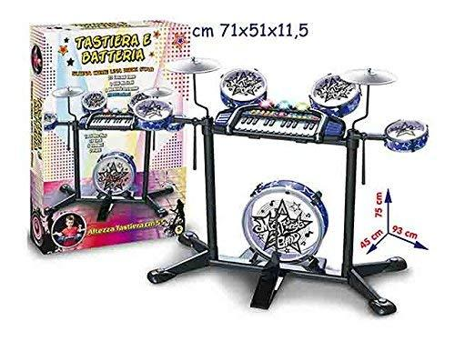 TEOREMA Theorem 64751 – Musical Electronic Keyboard and Rechargeable 7 Elements, Size 93 x 45 x 75 cm