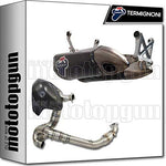 TERMIGNONI FULL SYSTEM EXHAUST RACE CT F-CARBON PANIGALE 1199 2014 14 D155102CPT + D155COLLT