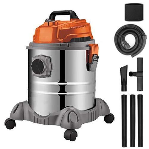 Terratek® 3 in 1 Wet and Dry 20L Bagless Vacuum Cleaner with Blower, Powerful 18Kpa Suction, 20 Litre Collection Capacity, Handy Floor Brush and Crevice Tool Included