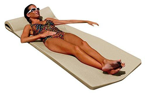 "Texas Recreation 8020018 Sunsation Swimming Foam Pool Floating Mattress, Bronze, 1.75"" Thick"