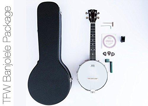 TFW Banjolele Starter Kit - With Case and Accessories