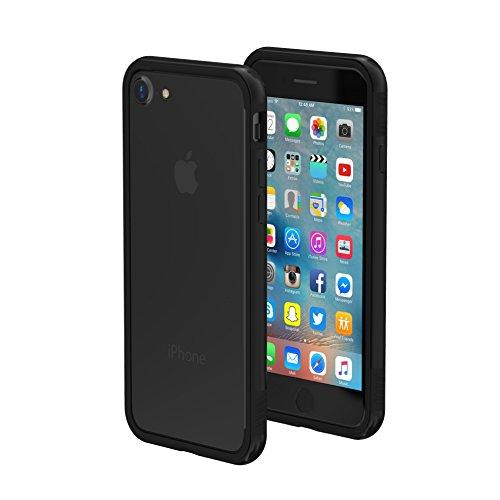 ThanoTech iPhone 7/8 Case K11 Bumper - Lightweight Aluminum TPU - Matches Your Phone Seamlessly - Slim, Durable, and Shockproof Protection - Black