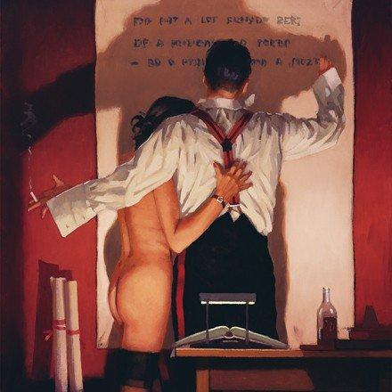 """ The Great Poet "" - Limited Edition Print By Jack Vettriano"