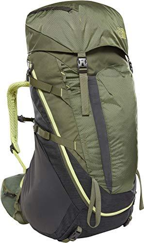 THE NORTH FACE Terra 55 Hiking Backpack - Citronelle Green/Terrarium Green, Medium/Large