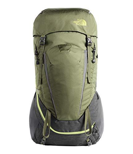 THE NORTH FACE Terra 55 Hiking Backpack - Citronelle Green/Terrarium Green, X-Small/Small