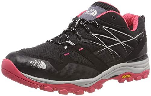 The North Face Women's Hedgehog Fastpack GTX (EU) Low Rise Hiking Boots, Black (Tnf Black/Atomic Pink 5vf), 7.5 UK (40.5 EU)