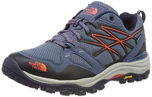 The North Face Women's W HEDGEHG FP GTX(EU) Low Rise Hiking Boots, Blue (CHINA BLUE/FIESTA RED C2N), 9 UK (42 EU)