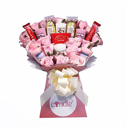 The Yankee Candle, Luxury Chocolate & Pink Rose Bouquet - Mix