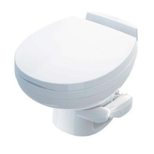 Thetford 42174 Aqua-Magic Residence RV Toilet with Water Saver, Low Profile/White
