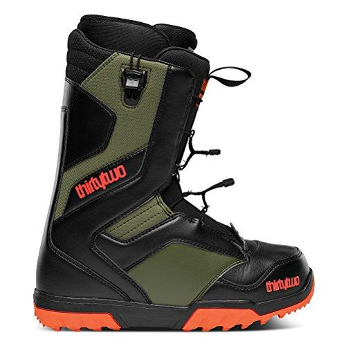 ThirtyTwo 32 Mens Groomer Fasttrack FT Snowboard Boots2014 Black Olive Soft Flex Boot UK 7