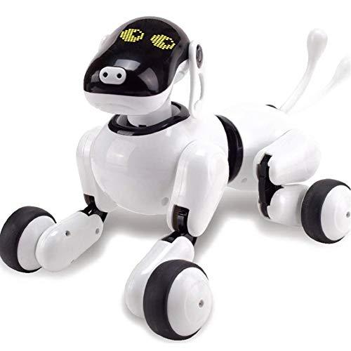 thorityau Smart Robot Dog Toy Electronic Pet Educational Toy for Kids Controllable Robot Dog doll Speech Recognition/ RF sensor/PuppyGo app