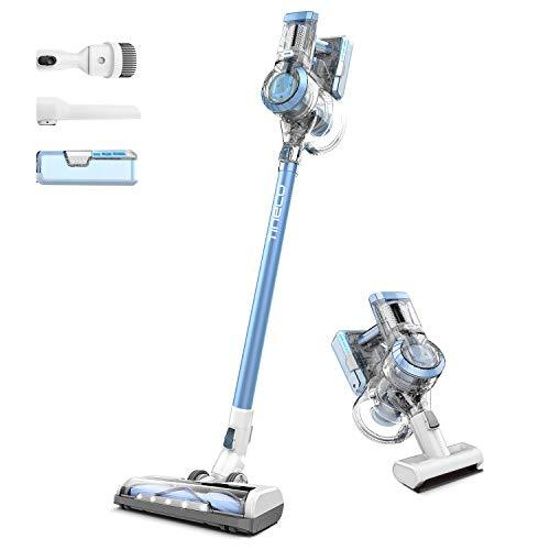 Tineco A11 Hero Cordless Vacuum Cleaner, 450W Digital Motor, Cordless Stick Vacuums with 22Kpa High Suction, Dual Charging, Lightweight Handheld Vacuums with Dual Instant Charging Wall-mounted Bracket
