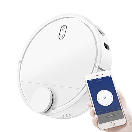 Ting Ting Robot Vacuum Cleaner, Upgraded, Super-Thin, 1200Pa Strong Suction, Quiet, Self-Charging Robotic Vacuum Cleaner, Cleans Hard Floors to Medium-Pile Carpets