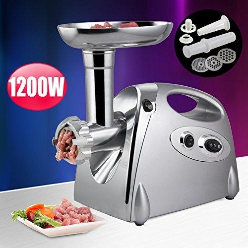 Tinxs® High-Power 1200W Motor Electric Meat Grinder Mincer Sausage & Kebbe Maker Filler Kitchen Appliances