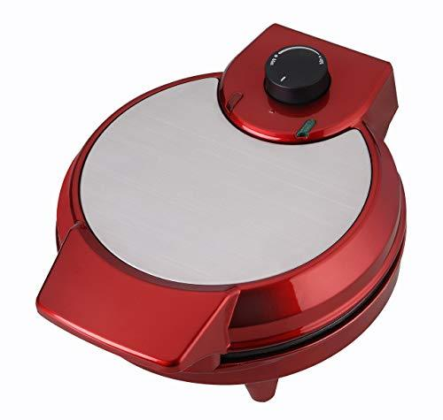 TKG TKG WM 1007 R Design Waffle Maker with Adjustable Temperature Control, 750 W, Red
