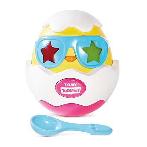TOMY Toomies Beat It Egg Lights and Sounds Musical Chick in Egg Toy Perfect for Easter Suitable From 18 Months
