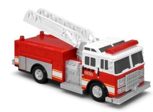 Tonka Light & Sound Effects Mighty Fleet Fire Truck Toy