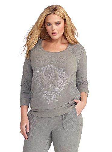 Torrid Rebel Wilson Quilted Sweatshirt 1X