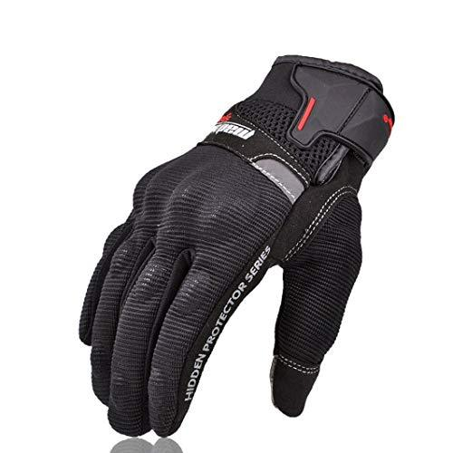 Touch Screen Motorcycle Gloves Leather Wear Resistant Waterproof Motocross Gloves Downhill Cycling Riding Mittens for Funny Gift