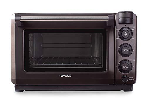 Tovala Gen 2 Smart Steam Oven with Multi-Mode Programmable Cooking Small Black and Stainless