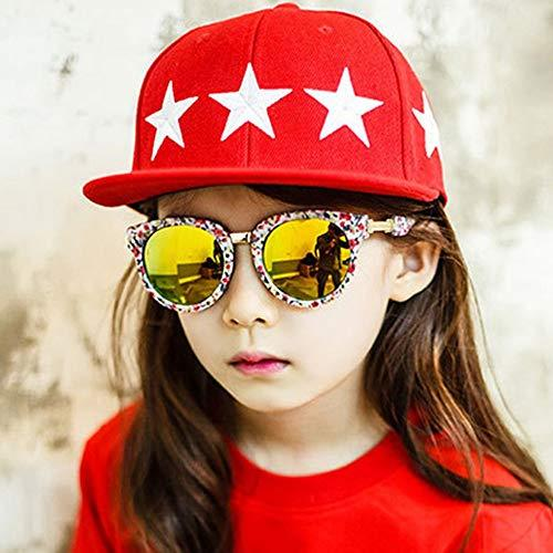TP+ Sunglasses Sunglasses - Resin, UV protection, comfort, fashion trends, outdoor activities for boys and girls, 5 colors to choose from $# (color : Flower)