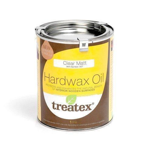 Treatex Hardwax Oil Clear 1L Matt by Treatex