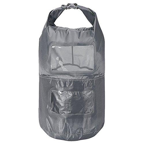 Trekmates Multi Tier Dry Lite Liner 25L - ultra light and compact packsack with viewing window and pack partitioning