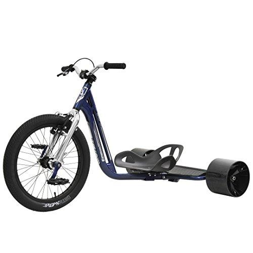 Triad Underworld 3 Drift Trike - Blue Chrome