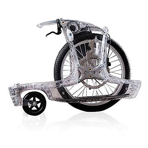 TRNMC Magic Wheel Self-Balancing Exercise Bike Non-Electric Wheelbarrow Creative Travel Bicycle,D,bicycle