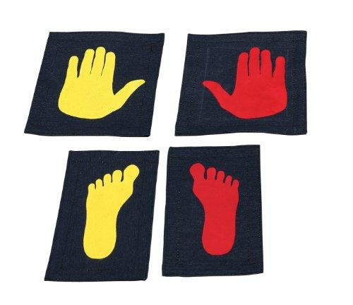 Tumbl Trak Girl's Gymnast Hands and Feet Placement Mat (5-Piece)