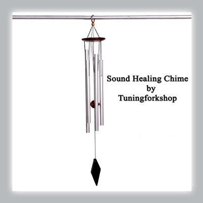 Tuningforkshop Sound Healing Sacred Solfeggio Wind Chime Small