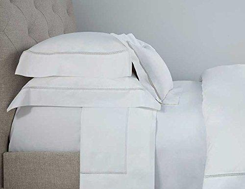 Tuscany Fine Linens Sheet Set, White, Full/Queen