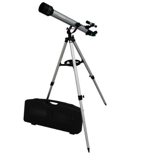 Twinstar 60mm Refracting Telescope / 175x Magnification / Built-in Compass / 3 Different Eyepieces / Hard Plastic Carrying Case