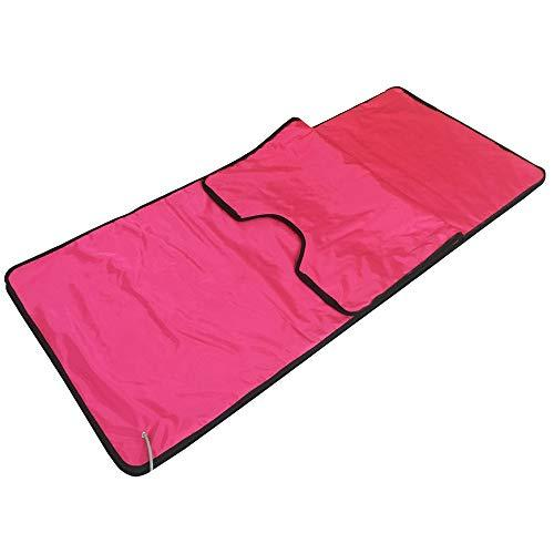 TXqueen Sauna Blanket, 2 Zone Waterproof Oxford Fabric Detoxification Blanket Used As Home Sauna for Body Shape Slimming