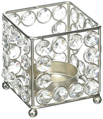 TYCON Crystal Square Candleholder