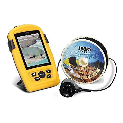 TYQ Sonar Visible Fish Finder Hd Screen Infrared Night Vision Yellow, yellow, a