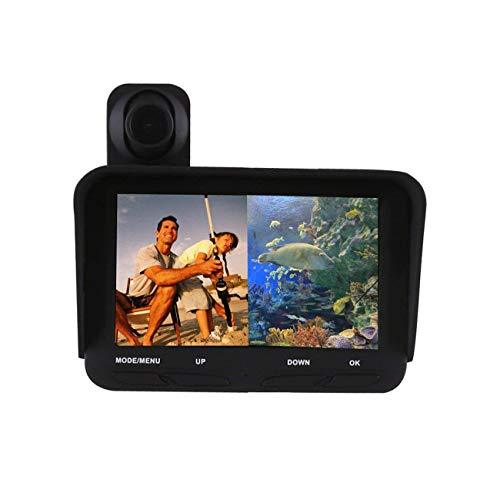 TYQ Visual Fish Finder Double Lens Hd Infrared Night Vision Device 20 Meters 4.3 inch Tft Lcd Screen Support Tf Card 32G Black, black, a