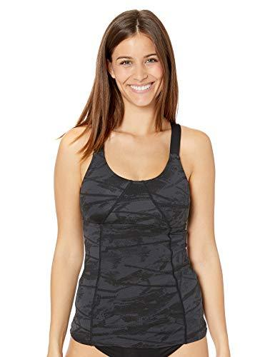 TYR Women's Canopy Emma Tank Top, Black, Small