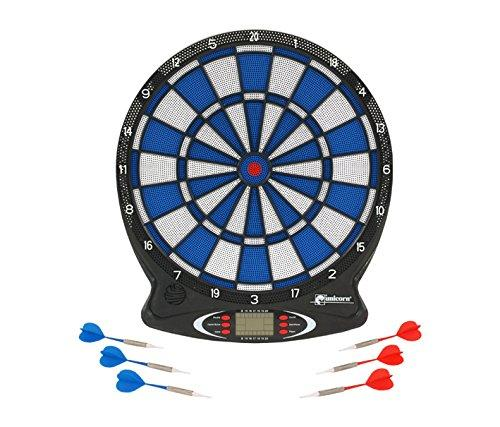 Unicorn Dartboard Electronic Soft Tip LCD - Black/White/Blue/Red