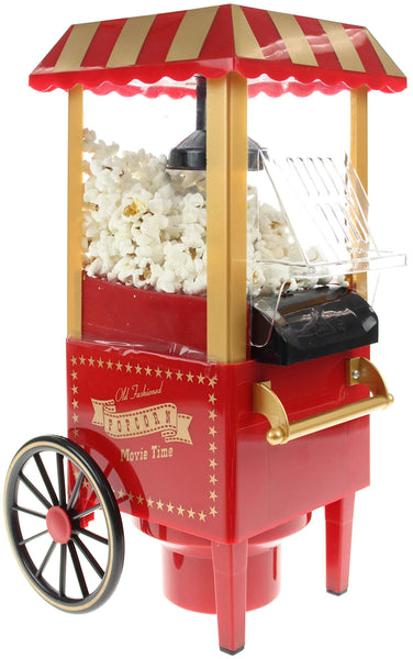 United Entertainment Popcorn Maker, Red, 26x21.5x40 cm